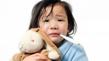 cảm cúm ở trẻ em