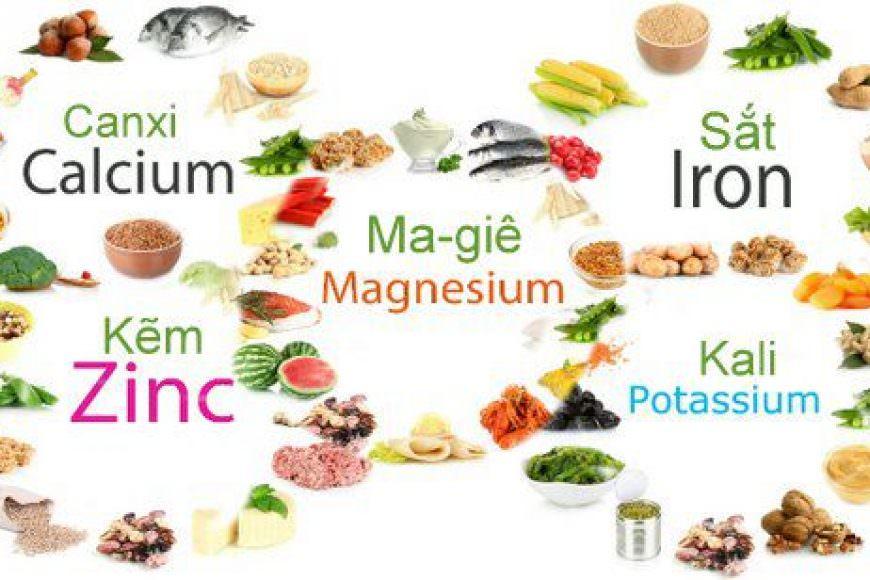Thiếu Vitamin và Khoáng Chất