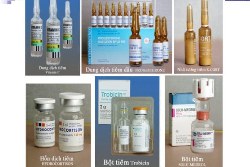 Một số cách đưa thuốc theo đường tiêm