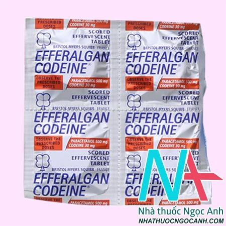 efferalgan codein có tác dụng gì