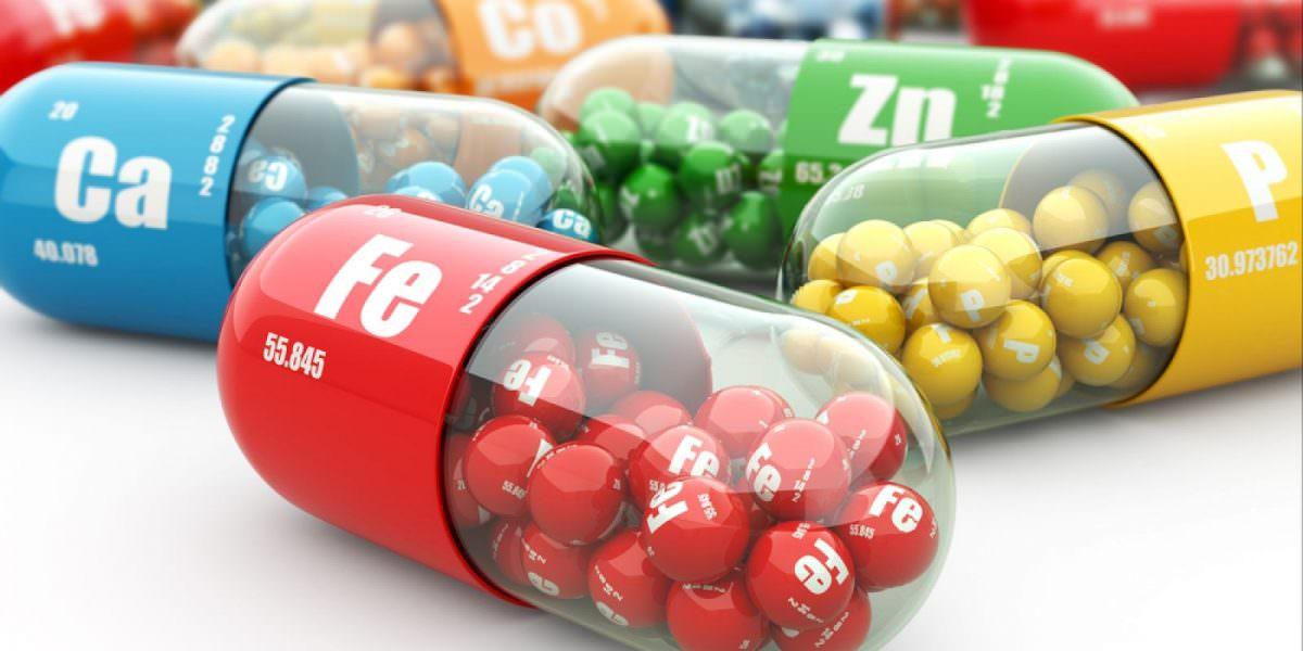 lạm dụng vitamin và chất khoáng