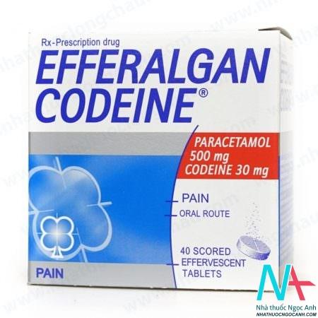 thuốc Efferalgan Codeine