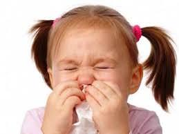 trẻ em bị cảm cúm