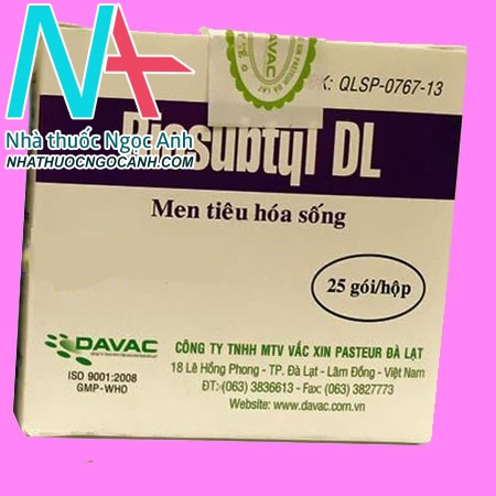 Thuốc Biosubtyl DL