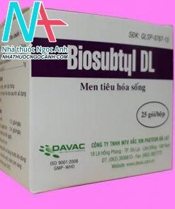 Thuốc vi sinh Biosubtyl DL