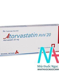 thuốc Atorvastatin 20