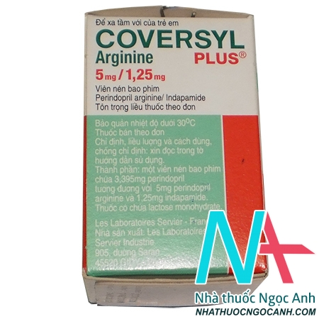 Coversyl Plus 5mg