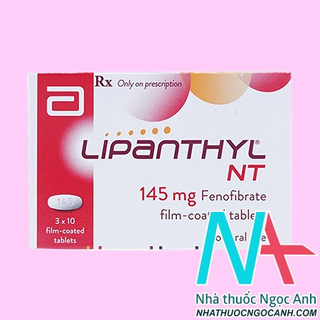 Thuốc Lipanthyl 145 mg