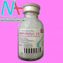 Lọ thuốc Merugold I.V