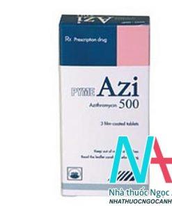 thuốc PYME AZI 500