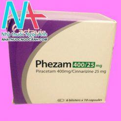 Hộp thuốc Phezam