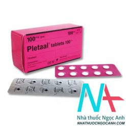 thuốc Pletaal 100mg