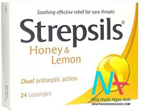 Strepsils là thuốc gì