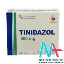 Thuốc Tinidazol500mg