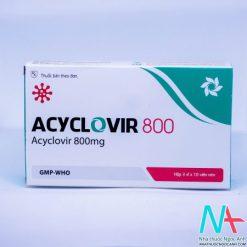 Thuốc Acyclovir 800mg