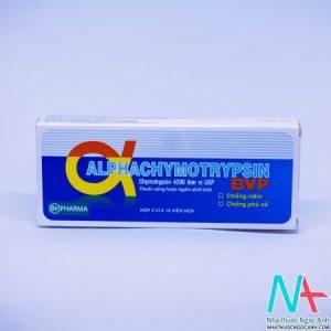 thuốc alpha chymotrypsin