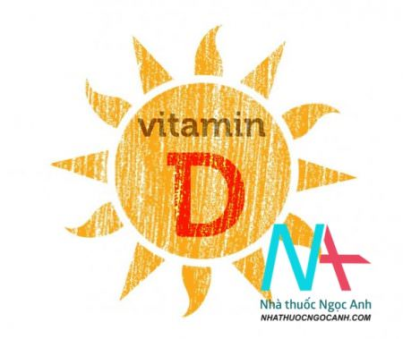 bổ sung vitamin D cho trẻ em