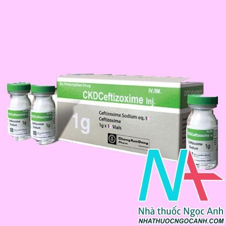 CKD Ceftizoxime Inj.1g