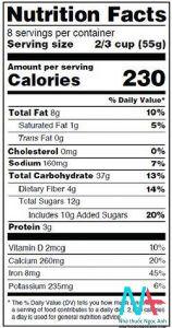 cách đọc nhãn thực phẩm