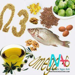 chế độ ăn chứa nhiều acid béo không no