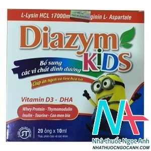 Thực phẩm bảo vệ sức khỏe Diazym kids