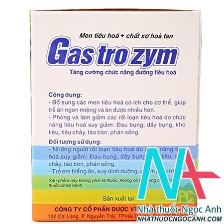 gastrozym có tốt không