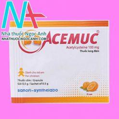 Gói thuốc acemuc