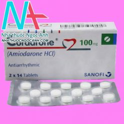 Hộp thuốc Cordarone 200
