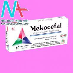 Hộp thuốc Mekocefal