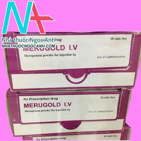 Hộp thuốc Merugold I.V