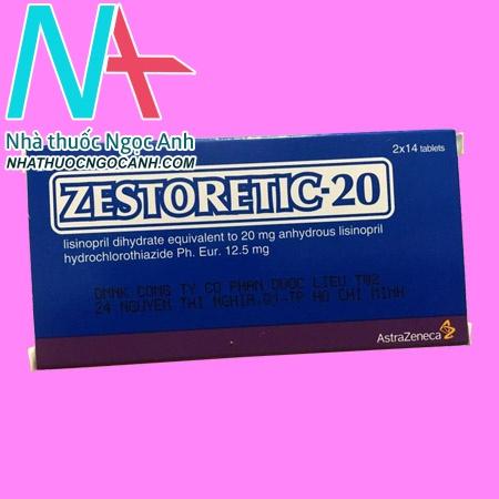 Hộp thuốc Zestoretic