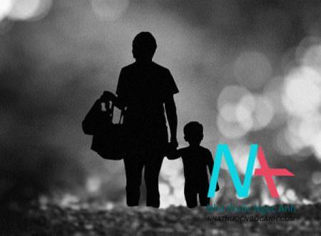 mẹ và con