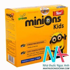 siro yến xào Minions Kid