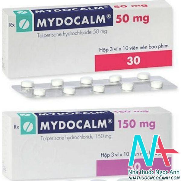 Mydocalm150mg - 50mg