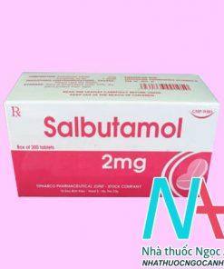 Hộp thuốc Salbutamol 2mg