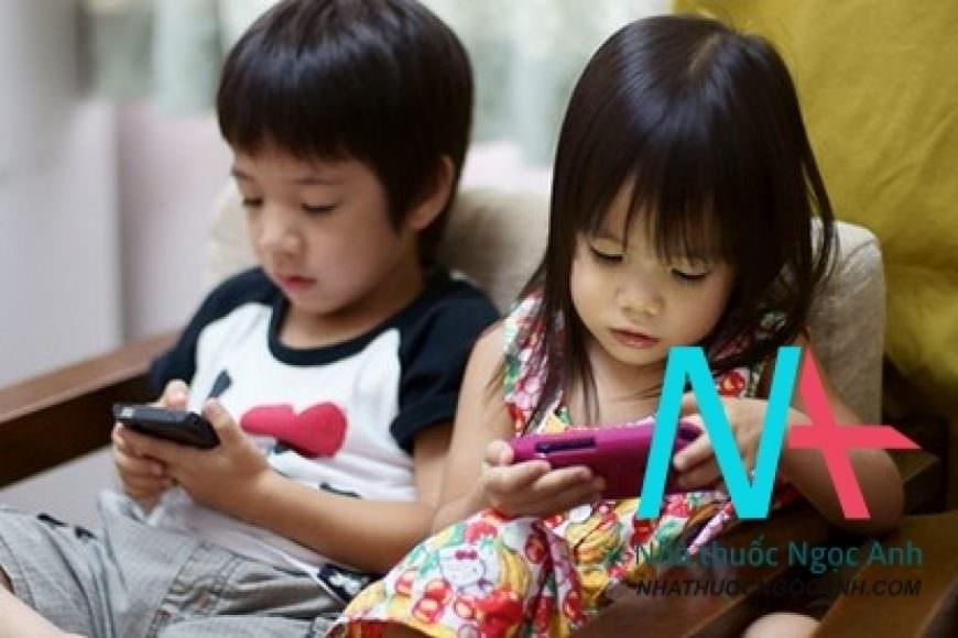 Thói quen sử dụng sản phẩm công nghệ cho trẻ