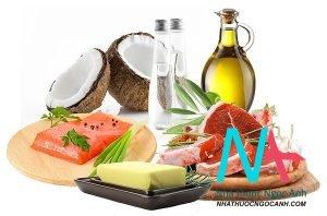 thực phẩm chứa acid béo không no