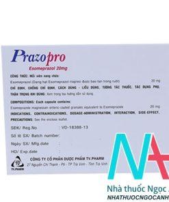 thuốc Prazopro 20mg giá bao nhiêu
