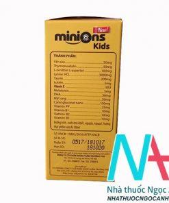 thuốc bổ Minions Kid