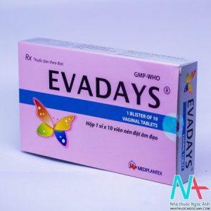 thuốc viên đặt phụ khoa Evadays