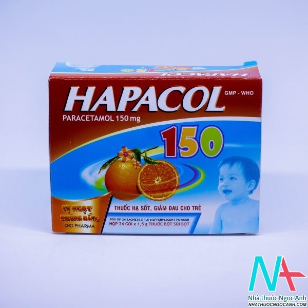 thuốc HAPACOL 150