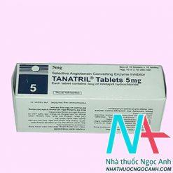 Hộp thuốc tanatril 5mg