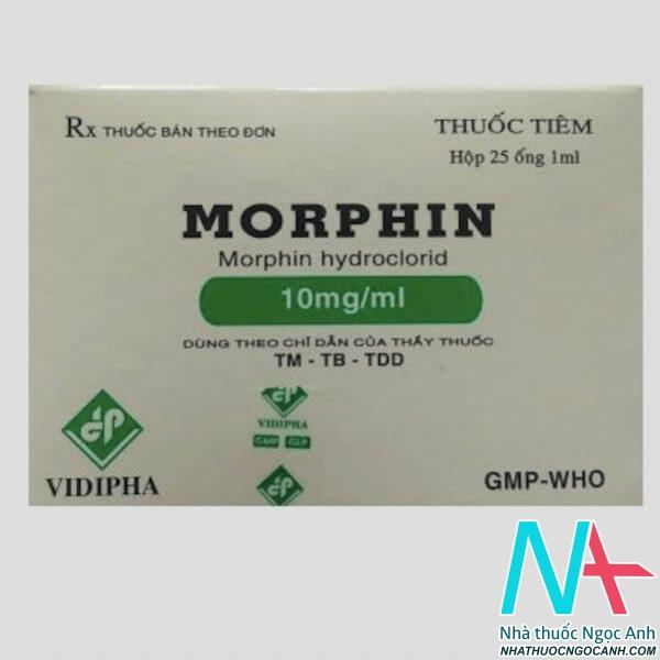thuốc Morphin tiêm