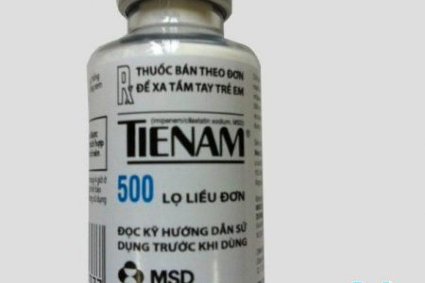Hướng dẫn sử dụng thuốc kháng sinh Tienam theo phác đồ điều trị