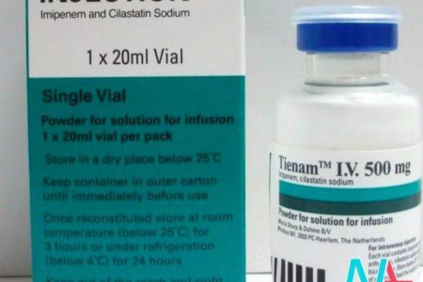Thận trọng khi sử dụng thuốc kháng sinh Tienam