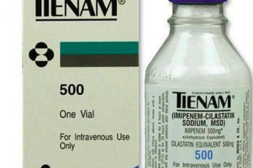 Đặc tính dược lý của thuốc kháng sinh Tienam