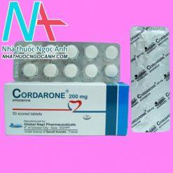 Vỉ thuốc Cordarone 200