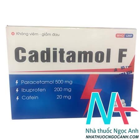 Caditamol F giá bao nhiêu