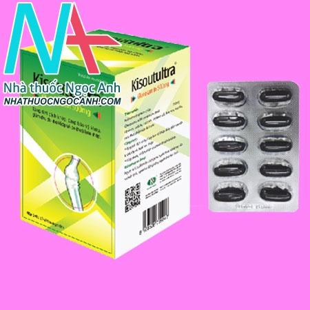 Kisoutultra Glucosamin 500mg