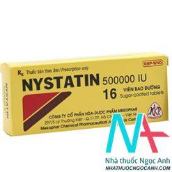 Thuốc Nystatin